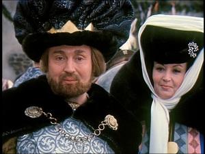 Rolf Hoppe und Karin Lesch